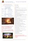 NEWSLETTER Mon 5th April Sun 11th April 2021