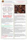 NEWSLETTER MON 8th MARCH 2021 SUN 14th MARCH 2021