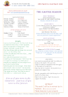 NEWSLETTER Mon 15th March Sun 21st March 2021